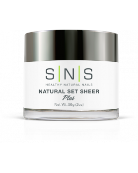 SNS Natural Set Sheer 2oz/1шт.