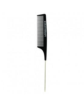 Keraterapy Carbon Tail Comb/ Термостійкий гребінець з металевим роздільником