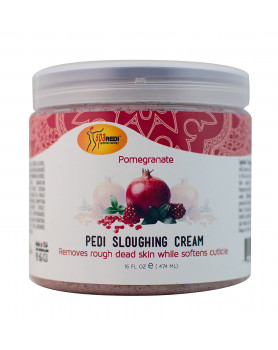 Pedi sloughing cream Pomegranate 16oz/473 ml