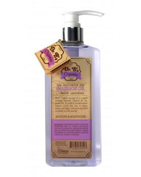 """Dr. B's Organics Massage Oil """"Sweet Lavender""""18oz/  532 ml"""