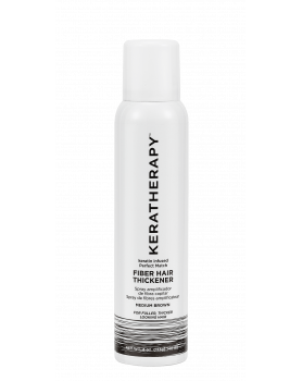 KERATHERAPY Fiber Thickening Spray Medium Brown 4oz/ 140 мл