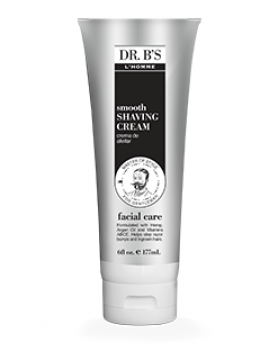 Dr. B's L'Homme Facial Care Smooth Shaving Cream  6oz/ 177 мл