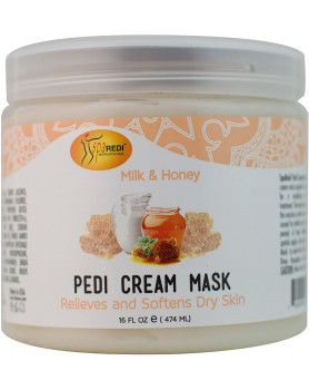 Pedy cream mask Milk-Honey 16oz/474 ml