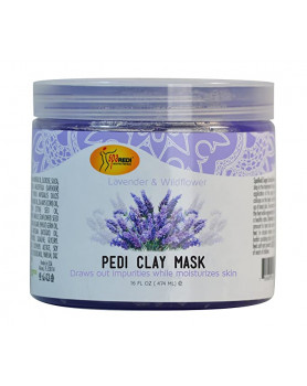 Pedy cream mask Lavander Wildflower 16oz/474 ml